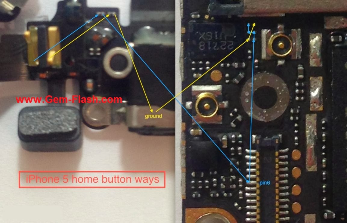iPhone5 Home Button Ways Solution