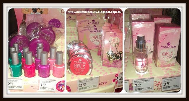 Girls On Tour - Essence: productos