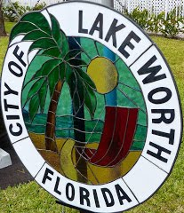 "Lake Worth's newsletter always ""Worth Noting"":"