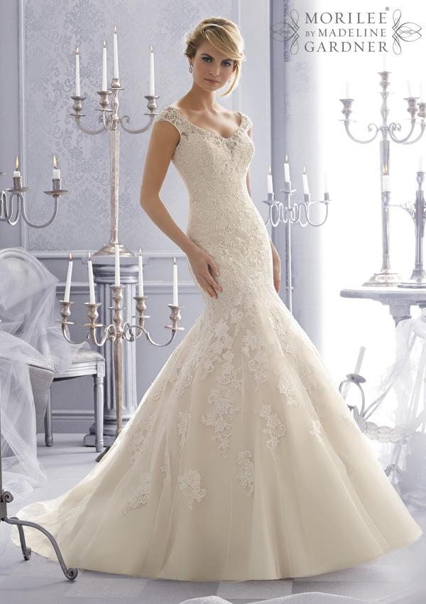 Magníficos vestidos de novias | Colección Madeline Gardner
