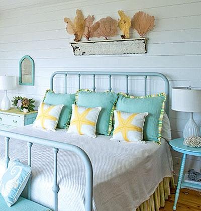 Home Girl Ocean Bedroom Decor