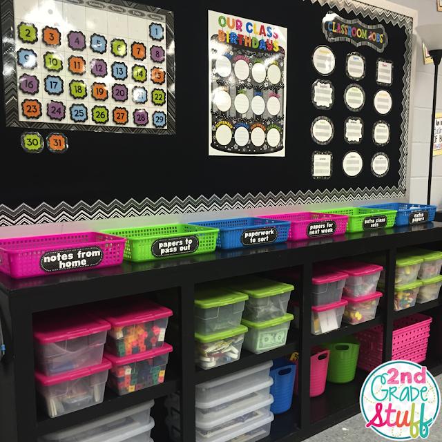 Classroom Decor Store ~ Nd grade stuff classroom reveal