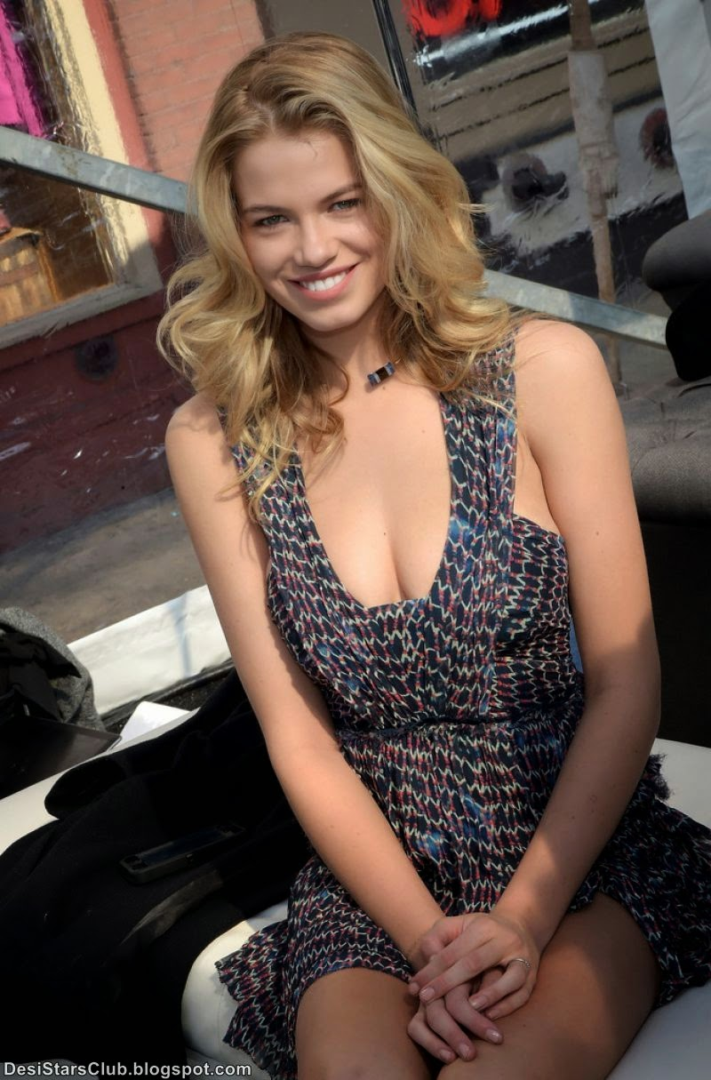 American Fashion Model Hailey Clauson Beautiful Pictures at 2015 Sports Illustrated Swimsuit's 'Swimville' Takes Over Nashville!