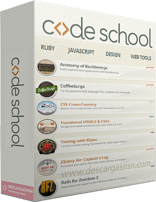 CodeSchool – Programming & Webdesign Courses
