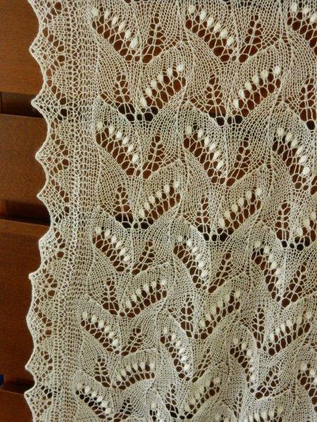 TE KOOP: nieuw: Cashmere zijde shawl.