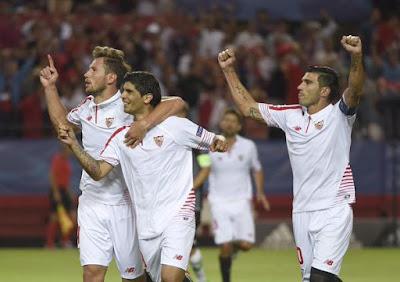 Crónica Sevilla FC 3 Vs Borussia Mönchengladbach 0