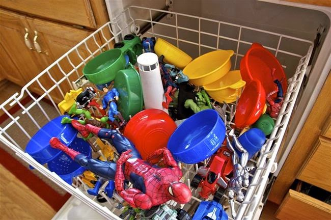 Truco para limpiar juguetes