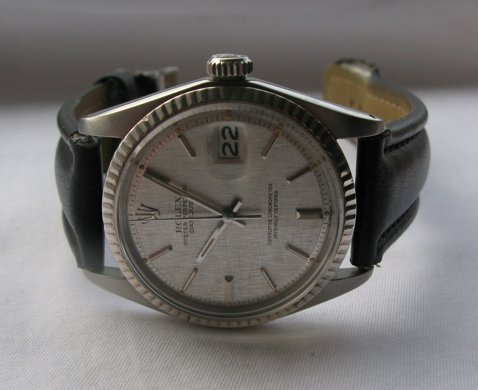 Andy B Vintage Watches 1974 Rolex Oyster Perpetual Datejust