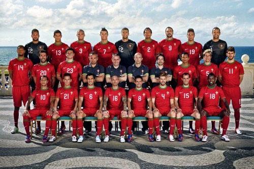 portugal squad euro 2012