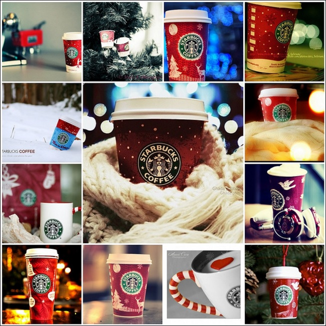Treasures by brenda the days of christmas starbucks
