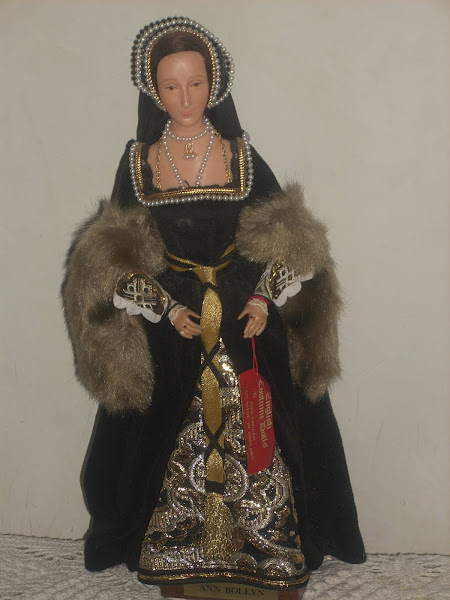 Ann Parker Doll of Anne Boleyn