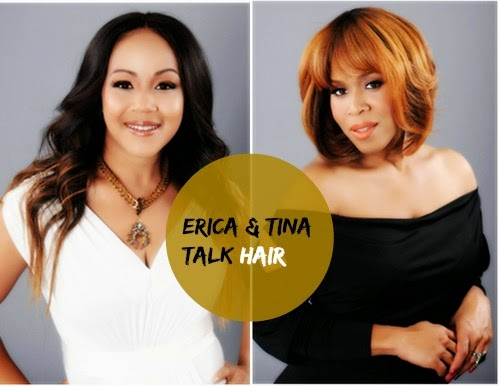 Divas Inspire.com: Erica And Tina Of The Group Mary Mary Share Hair