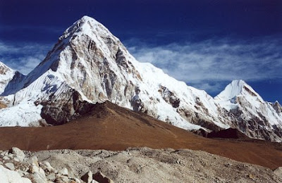 Pumori Mountain Nepal-Tibet Tourism