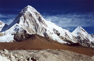 Pumori Mountain Nepal-Tibet Tourism