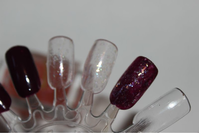Barry M Crystal Glaze and Berry Cosmo Nail Paints