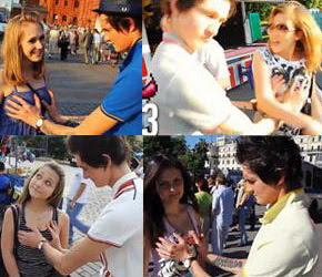 0 Clip Bóp vú 1000 cô gái giúp  thủ tướng Nga Putin