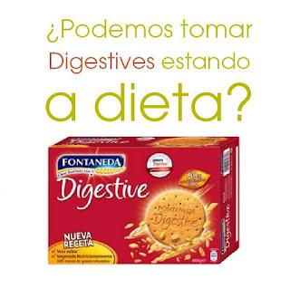 galletas maría y digestive a dieta