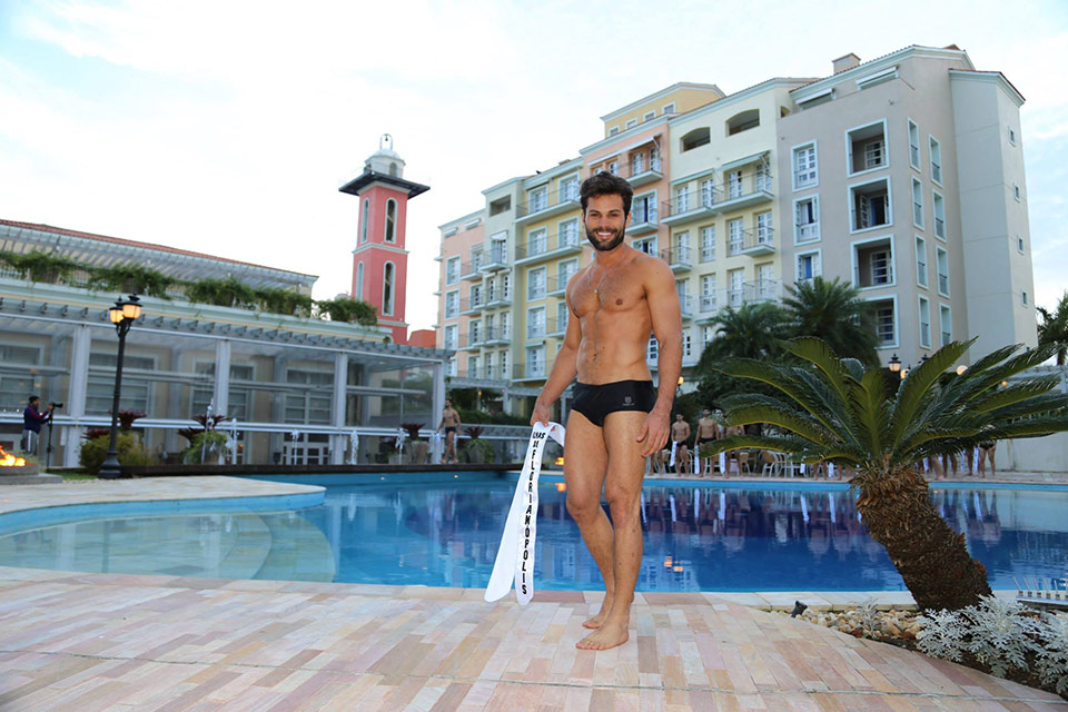 Mister Ilhas de Florianópolis - Boris Gevaerd, 27 anos, 1,83 m - Foto: Leonardo Rodrigues