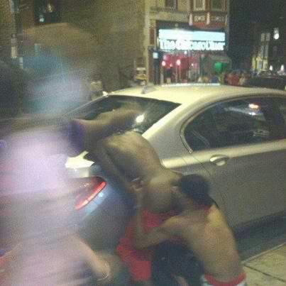 hoes naked in the hood
