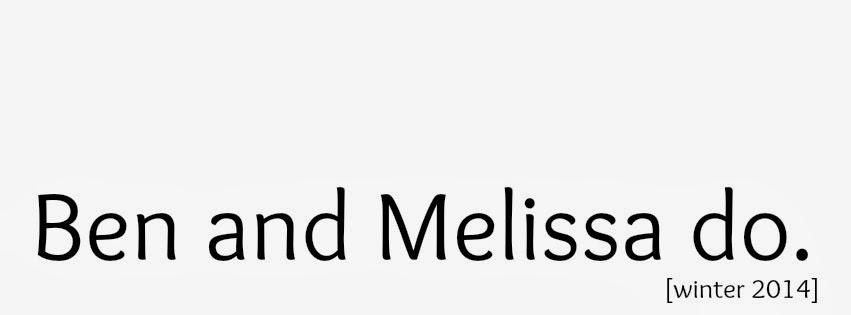 Ben and Melissa do
