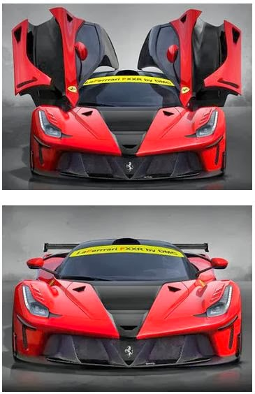 Modified Ferrari LaFerrari FXXR Hardcore Design
