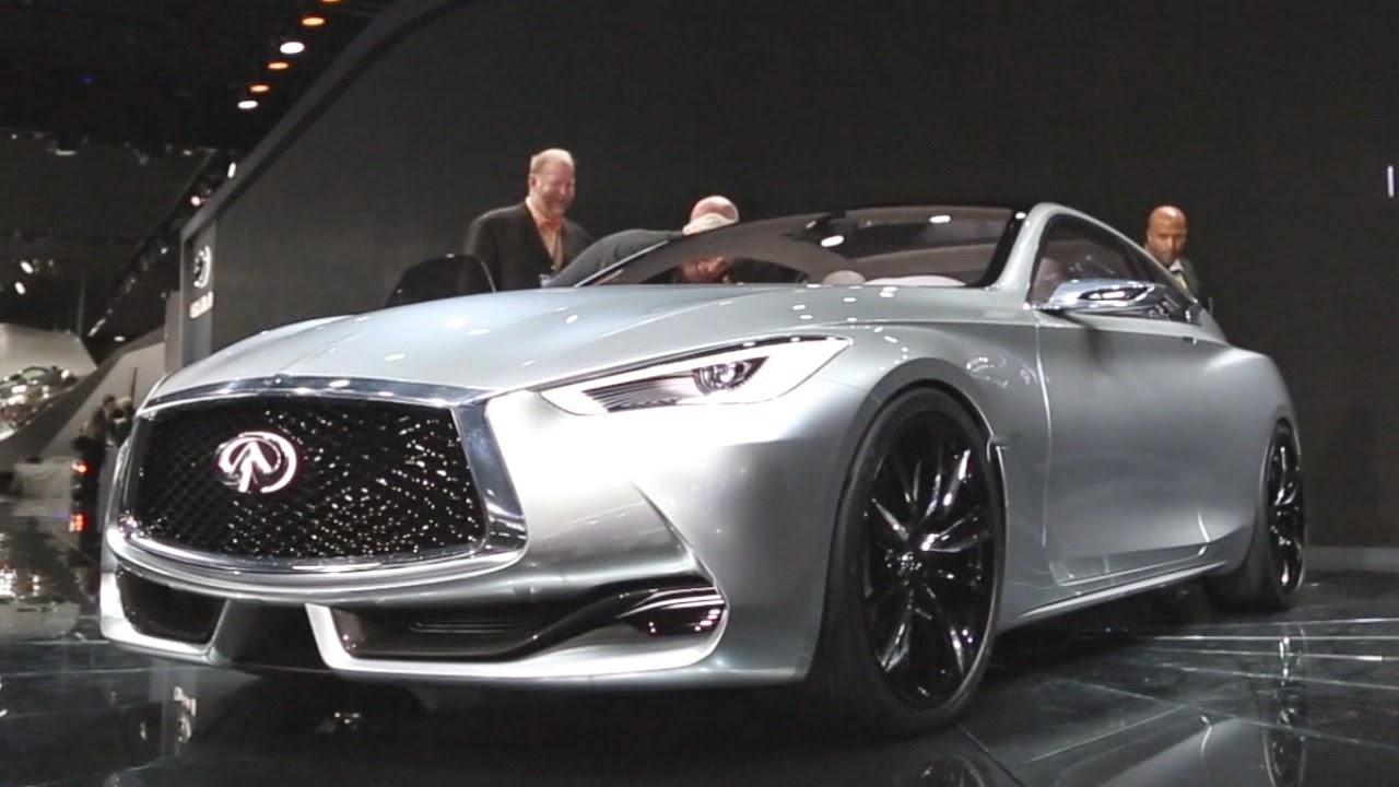 2015 Infiniti Q60 Concept Exterior