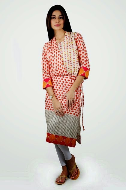 Khaadi Kameez for Jeans