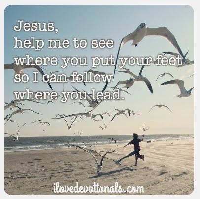 prayer to follow Jesus