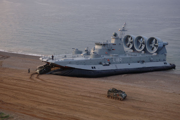 Zubr-class Landing Craft Air Cushion (LCAC)