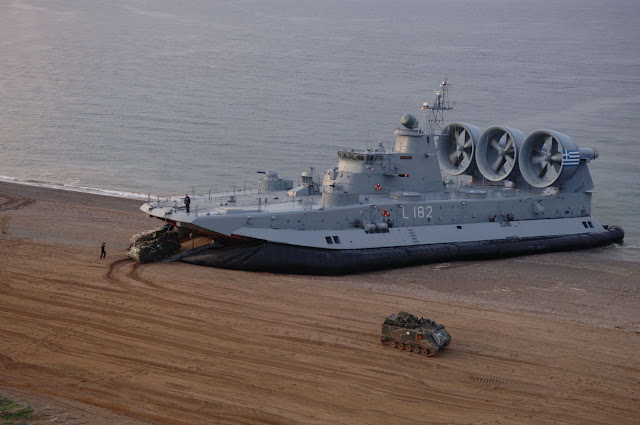 Project 12322 (Zubr) class air cushion landing ship
