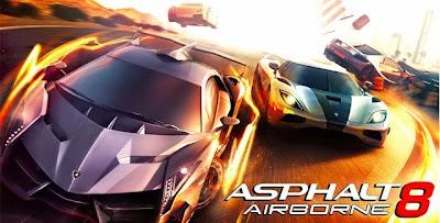 Asphalt 8: Airborne Apk Android - Game Balap Mobil Populer