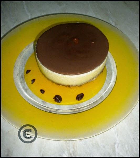 Bavarois vanille-chocolat