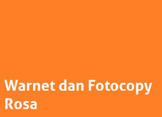 Lowongan Kerja Warnet dan Fotocopy Rosa