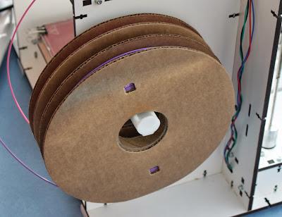 Mendel90 Lasercut, dual filament reels