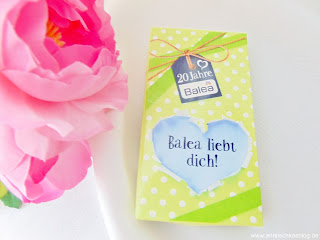 20 Jahre Balea LE Schlüsselanhänger - Balea liebt dich! - www.annitschkasblog.de