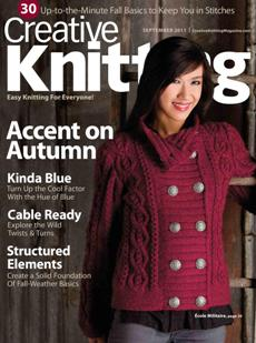 Creative Knitting September 2011