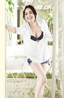 park min young sexy korean actress model