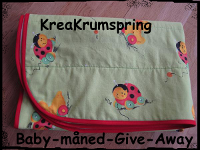 Baby-måned give away