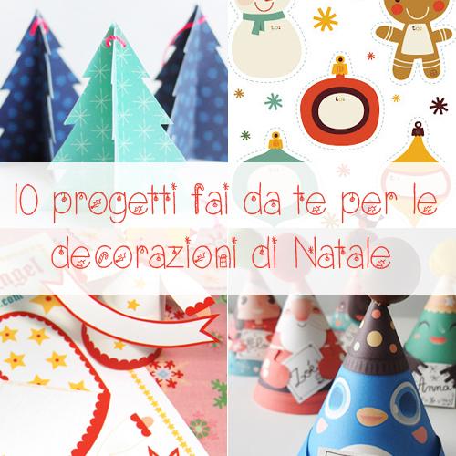 10 progetti fai da te per le decorazioni di natale - Decorazioni per natale fai da te ...