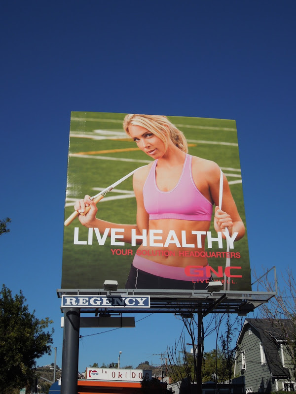 GNC Solution HQ 2012 billboard