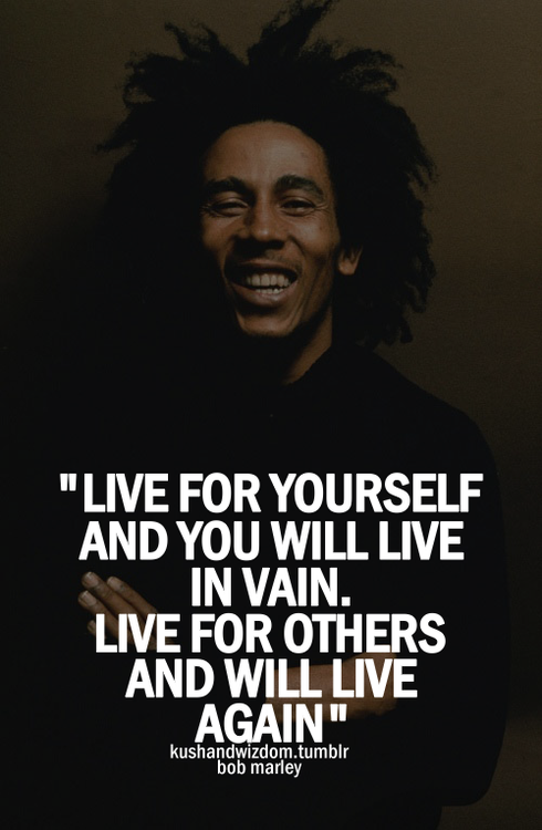 Great inspirational quotes from Bob Marley ~ Inspiration and ...