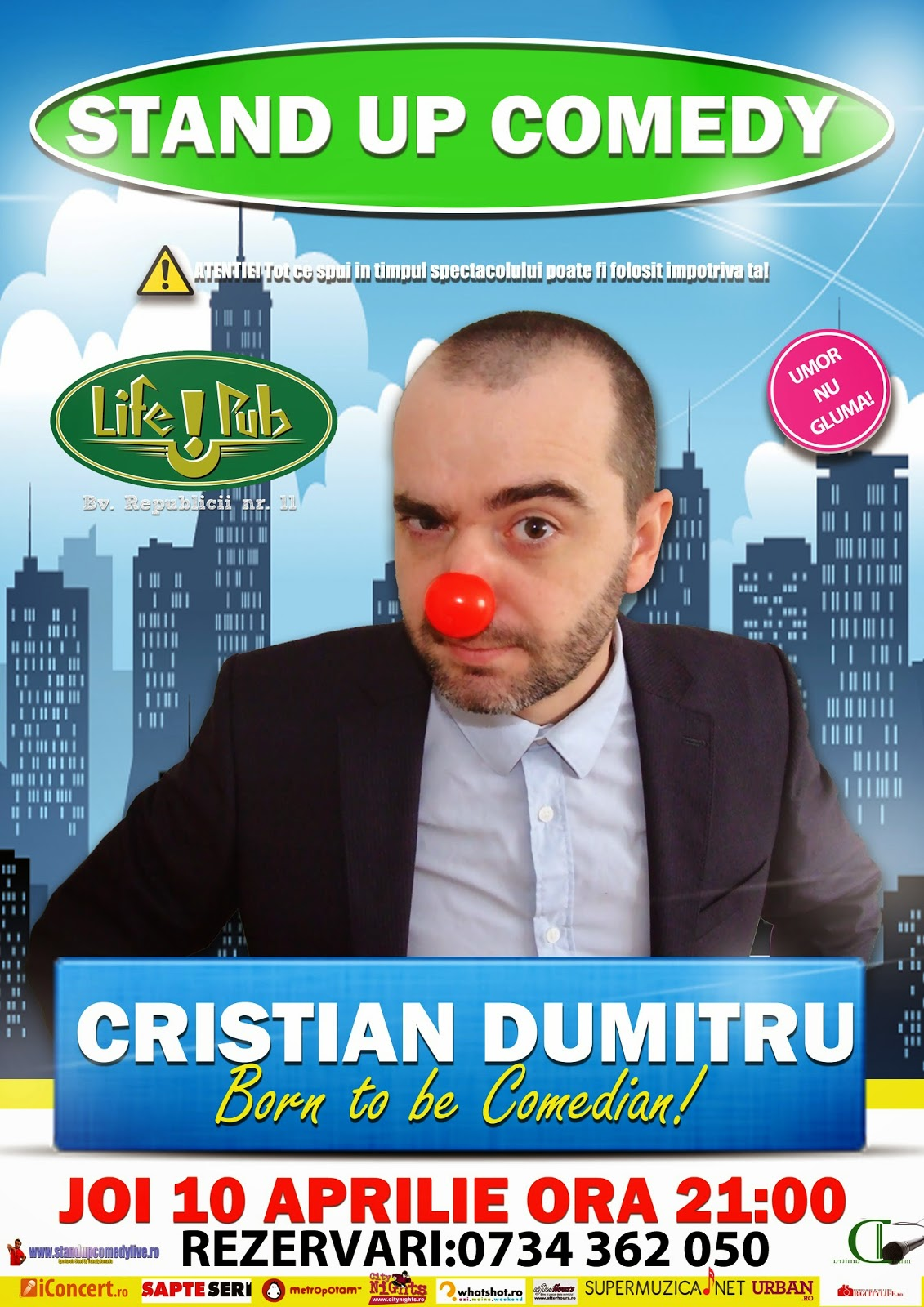 stand-up comedy timisoara joi
