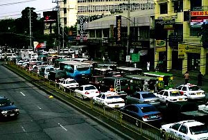 Espana Blvd - Lacson Ave usual traffic jam