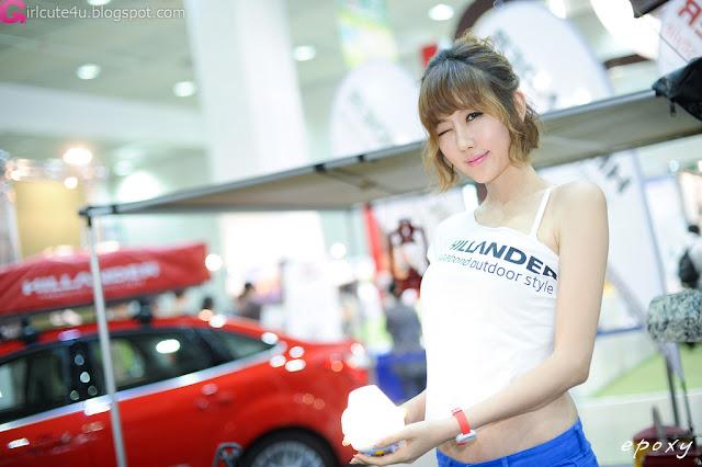 1 Choi Byeol Yee at Korea Autocamping Show 20-very cute asian girl-girlcute4u.blogspot.com