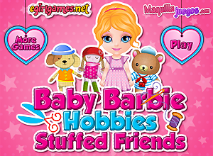 Los peluches de Baby Barbie