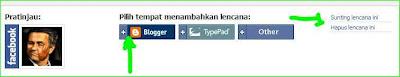 cara memunculkan akun facebook milik sendiri di blog