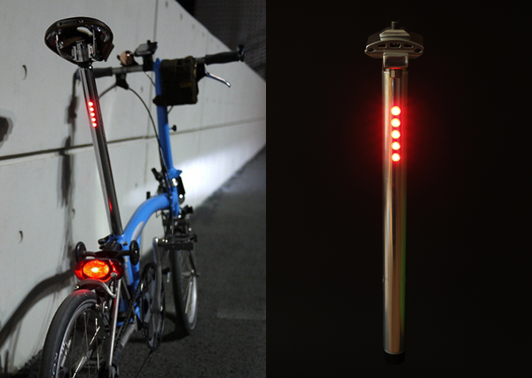 Lightskin LED seat post