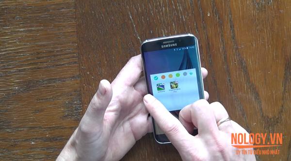 Samsung Galaxy S6 Edge xách tay.