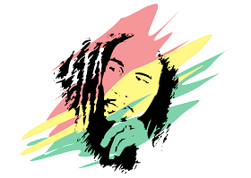 download Logo Bob Marley Vector
