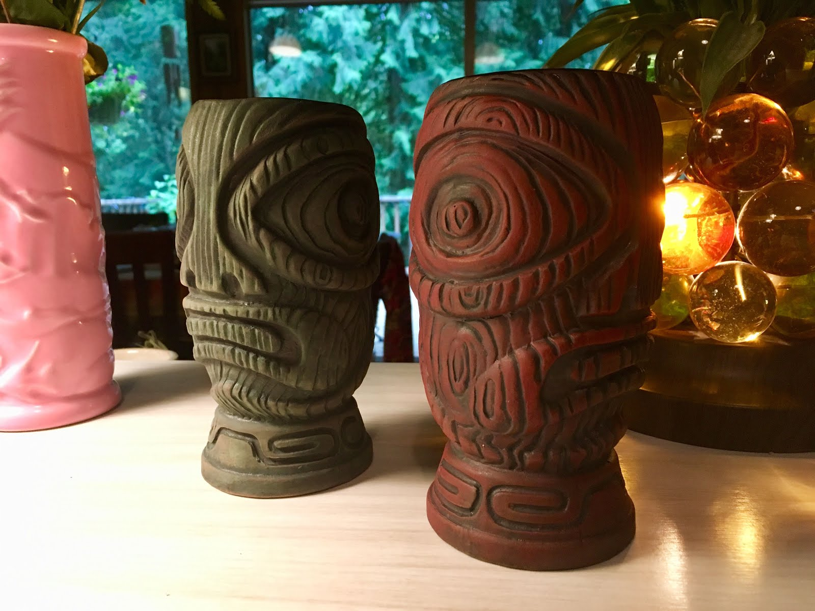 These mugs were made in collaboration with Michael Sbicca/Jungle Modern Ceramics.